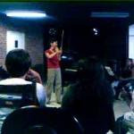 mais aula de violino