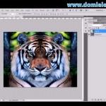 Como criar um efeito espelho na foto - Curso de Photoshop Básico Grátis - Dom Lele