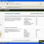 Curso de joomla em DVD video aula 07 como criar um banco de dados mysql e instalação do joomla