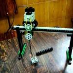 Guindaste Deslizante Lego Robolab