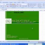 apresentação do curso de EXCEL 2007