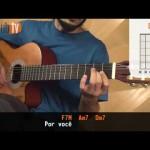 Como É Grande o Meu Amor Por Você - Roberto Carlos (aula de violão simplificada)