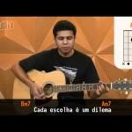 Não Olhe Pra Trás - Capital Inicial (aula de violão simplificada)