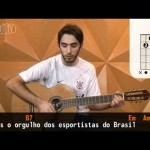 Hino do Corinthians (aula de violão simplificada)
