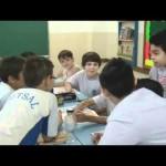 Aulas de inglês com o Centro Britânico no Colégio Piaget - 2010