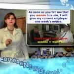 Curso de inglês - Lições aprensentadas pela Prof. Rosana Nassar