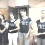 Teatro Libras oração pela família 3° período 2009